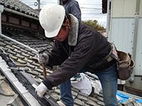 施工を行うのは、技術最高・マナー最高の福博瓦工業の職人
