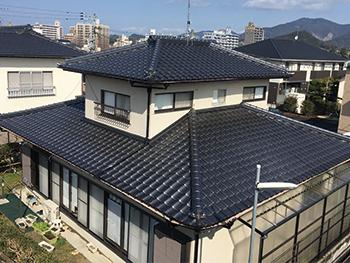 おすすめ屋根葺き替えプラン 和瓦(寄せ棟)