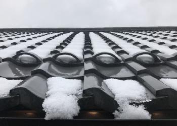 雪止め瓦入れ工事